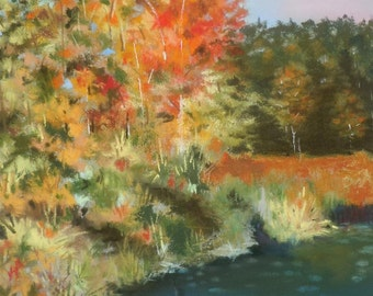 Autumn Trees Original Painting