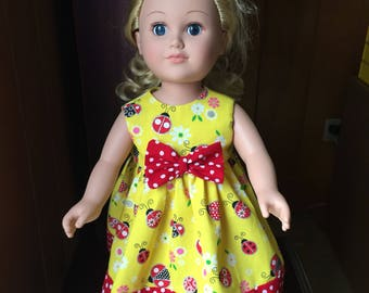 Ladybug Doll Dress