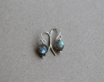 Expansive - Labradorite and Sterling Silver Earrings