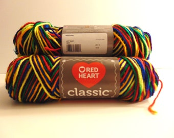 Mexicana - Red Heart Classic variegated yarn  100% acrylic worsted weight