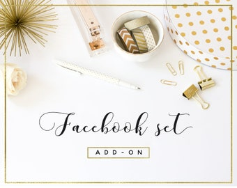 Facebook timeline banner and profile image add-on
