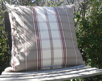 country or cushion mountain in beautiful cotton fabric of the inner cushion Tarn Plaid