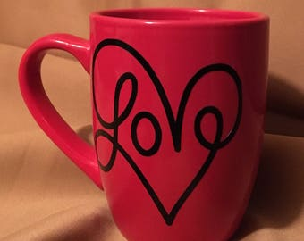 Customized Love Mug