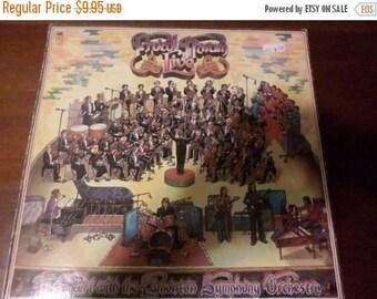 Vintage 1972 LP Record Procol Harum Live Very Good Condition A&M Records 5249
