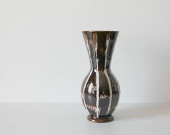 West German Jasba Vase, Mid Century Ceramics, West German Pottery 109-22, Keramiks West Germany