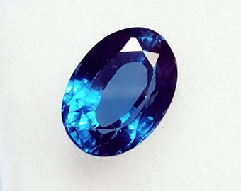 Excellent Ring Size 6.68 Ct Oval Shape Natural Blue Topaz  Gemstone