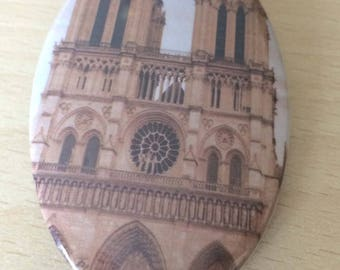 "magnets / Fridge Magnet: ""Notre Dame"""