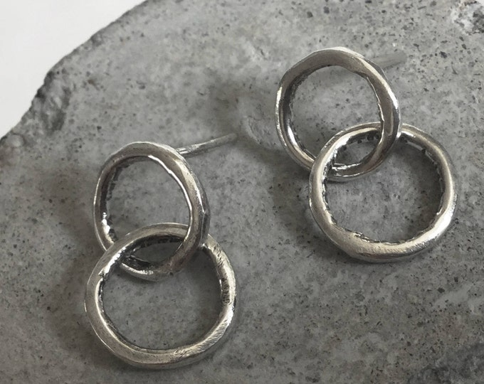 Little Circle  Earrings