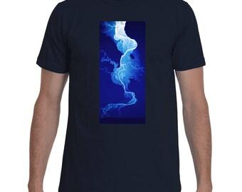 Willamette River Lidar tshirt - mens shirt - womens shirt - science shirt