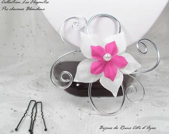 Fascinator comb - ladies - Pic Blandine - wedding fascinator