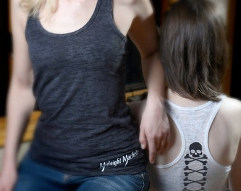 Ladder Back Skull and Bones Tank