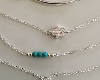 Reiki Healing Necklace, Healing Necklace Jewelry, Good Luck Jewelry, Reiki Silver Necklace, Reiki Gold Necklace, Reiki Chakra Necklace