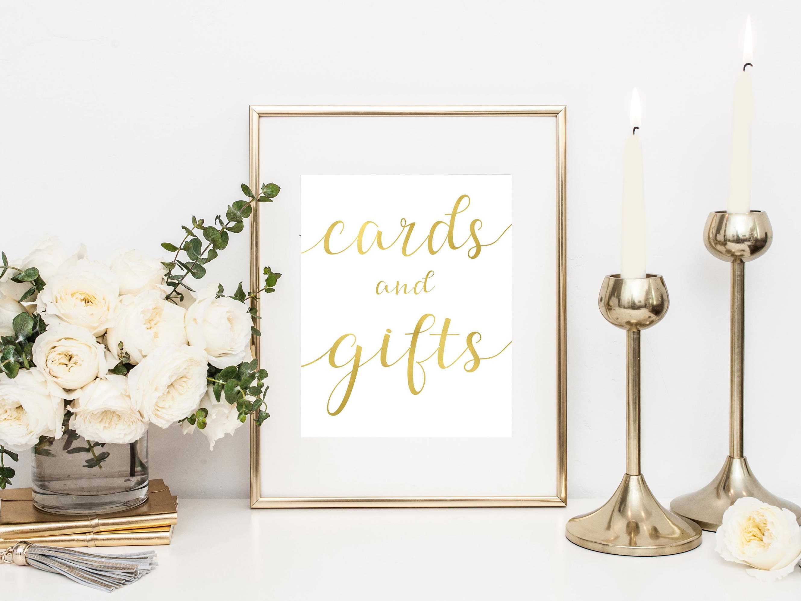 Wedding Reception Gift: Cards And Gifts Sign Gift Table Sign Printable Wedding Sign