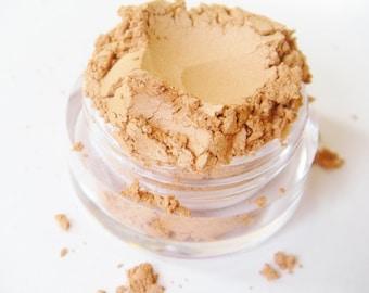 SAMPLE Pumpkin Spice- All Natural Mineral Eyeshadow Pigment (Vegan)