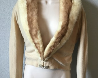1950s Aristocrat cashmere sweater