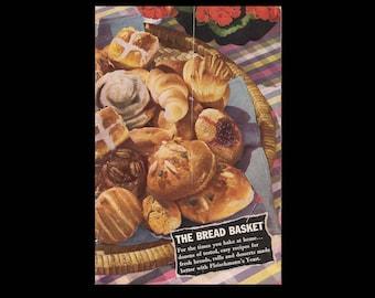 The Bread Basket - Vintage Recipe Booklet c. 1942