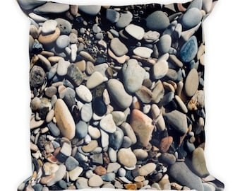 Soft as Stones B - pebble pillow - Home Decor Pillow Covers - 2 sizes available