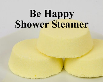 Be Happy Shower Steamer -  Shower Bomb - Essential Oil Shower Steamer
