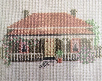 Australian Wombat Lodge Counted Cross Stitch Kit Made by Juniper Designs 1990 New unopened kit