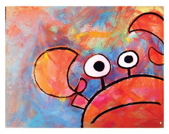 Crabby - Digital Print