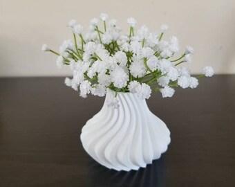 Wedding Center Piece 3d Printed Spiral Vase Home Office Decor