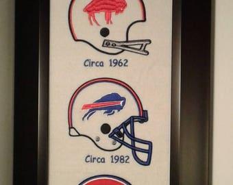 Buffalo Bills Heritage Team Banner....Framed