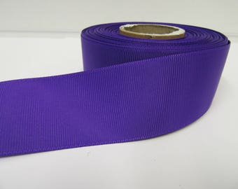 Grosgrain Ribbon 3mm 6mm 10mm 16mm 22mm 38mm 50mm Rolls, Orchid Bright Purple, 2, 10, 20 or 50 metres, Ribbed Double sided,