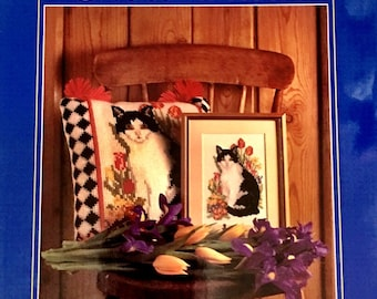 Cats in Cross Stitch by Sally Harman