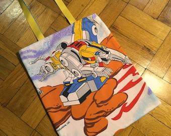 Voltron - WRETRO WRAPPER tote bag