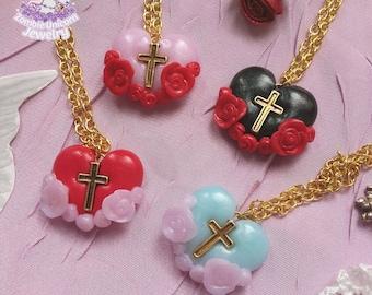 Grace necklace cpk cult party kei larme lolita