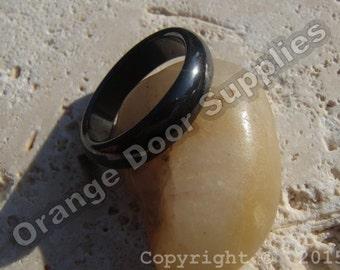 Hematite Ring 24mm- 1 Pc (JBC136)