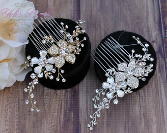 Bridal Hair Comb, Wedding Hair Comb, Crystal Hair Comb, Swarovski Hair Comb, Hair Comb, Headpiece, Crystal Headpiece, Bridal Headpiece,