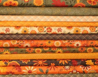 Beauty Fall Half Yard Fabric Bundle - Moda - Sandy Gervais