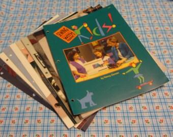 DESTASH:  TEN (10) Sewing with Nancy Booklets