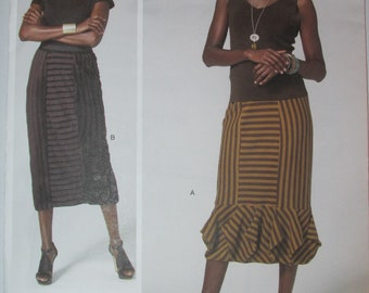 Vogue V1292 Sandra Betzina Today's Fit SKIRT with Origami Border One Size UNCUT 1292