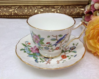 Aynsley teacup and saucer.