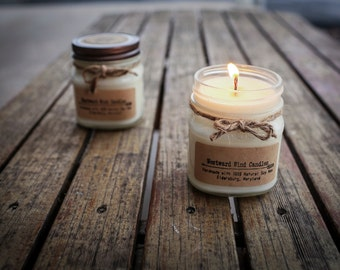 8 oz. Natural Soy Wood Wick Candles