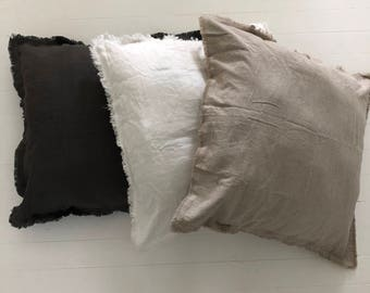 100% Pure Linen Cushion Covers