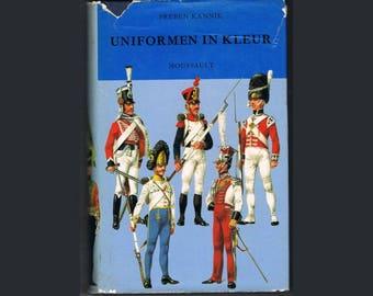 Vintage Uniform Book , Historical Military World
