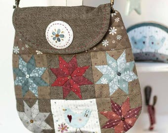 Winter Star Handbag Sewing Pattern Download (804170)