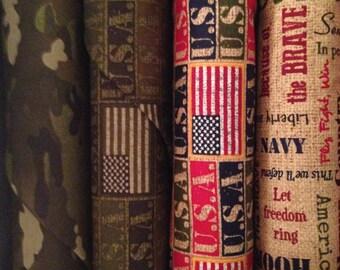 Fabric HALF YARD: Because of the Brave - Moda Fabrics