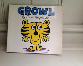 Vintage Timbuctoo 'Growl' book By Roger Hargreaves 1979