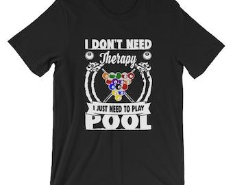 Pool - Funny - Billiards Shirt - Funny Pool Shirt - Pool Shirt - Billiards T Shirt - Pool Player Gift - Pool Tee - Funny Billiards