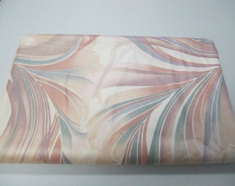 Vintage 1984 designer fabric  2 yards and 56 inch wide heavy drapery or upholstery great condition