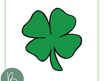 Four Leaf Clover SVG File