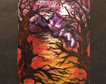Haunter  - Extended Art Trading Card
