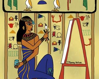 Egyptian Artist - Painter - Illustrator