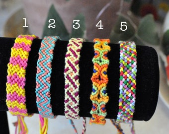 Custom Friendship Bracelet (Large)