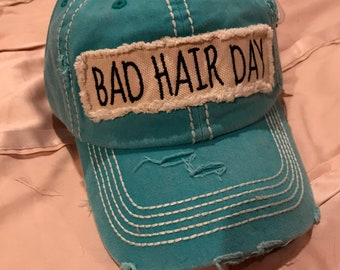 Bad Hair Day cap - Turquoise