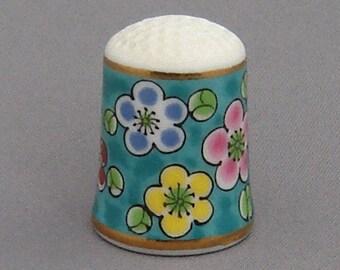 Nimura Thimble - Plum Blossom